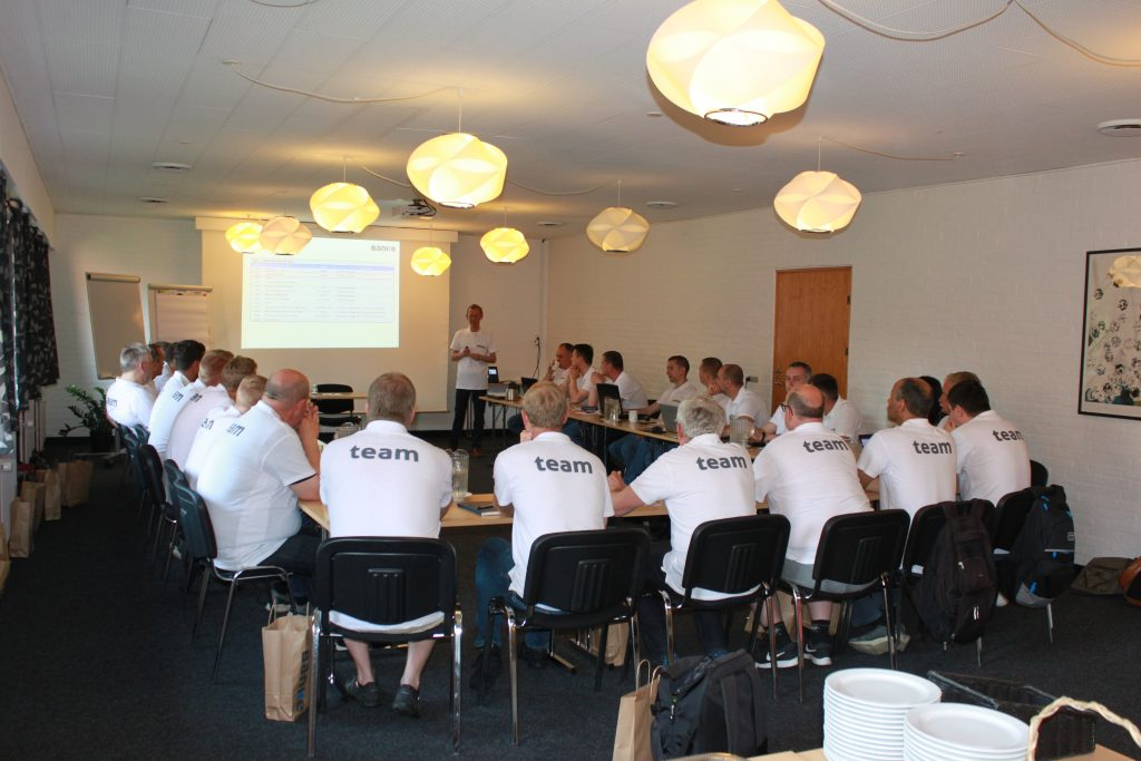 For two days on June 26th and 27th, Banke ApS gathered the entire workforce in Sønderborg for an All-Hands meeting