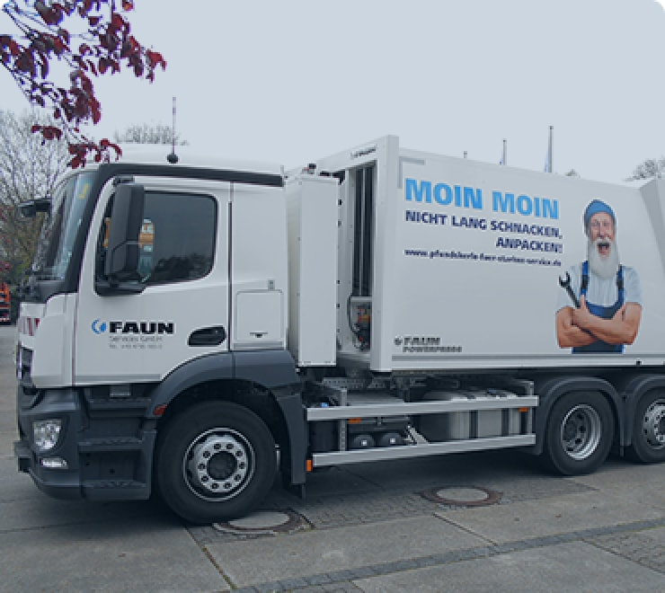 NERU operates a Banke heavy duty refuse body