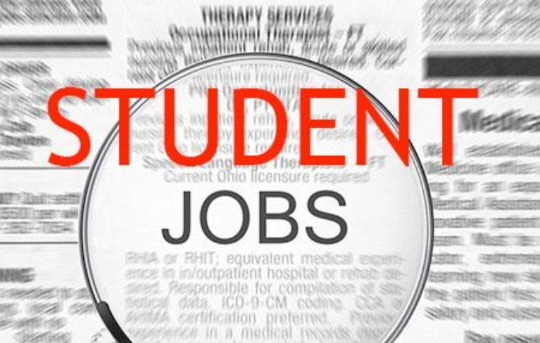 Part-time job for a student