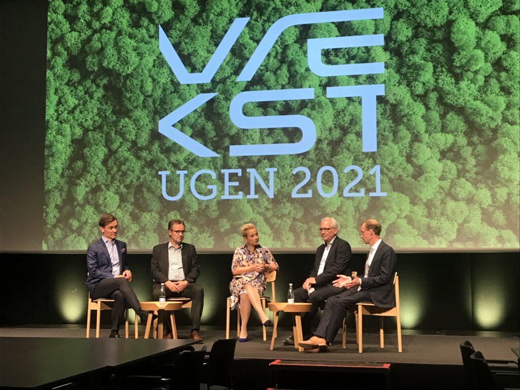 Vækstfondens Vækstuge panel-debate on the subject of Green Transport